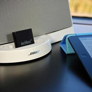 Récepteur musique sur dock Mon education musicale avec l ipad mobile fun